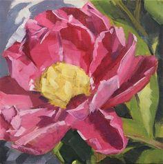 "Daily+Paintworks+-+""Pink+Rose""+-+Original+Fine+Art+for+Sale+-+©+Jamie+Stevens"