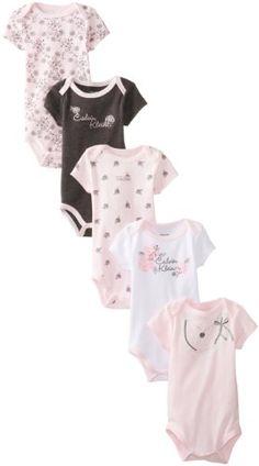 Calvin Klein Baby-Girls Newborn 5 Pack Bodysuit, Pink/Gray, 3-6 Months Calvin Klein,http://www.amazon.com/dp/B00EOHWSDM/ref=cm_sw_r_pi_dp_ZLXZsb0VBNNS27K3