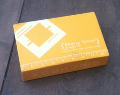 Birchbox Review August 2012 - Beauty School Themed Monthlty Subscription Box! #birchbox