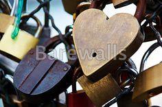 """Paris, france. symbols of love"" - Love posters and prints available at Barewalls.com"