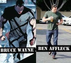 Ben Affleck: i'm Batman. Batman Meme, Batman Y Superman, Batman Quotes, Batman Cartoon, Batman Logo, Ben Affleck Batman, Ben Affleck Bruce Wayne, Personnage Dc Comics, Batman Kunst