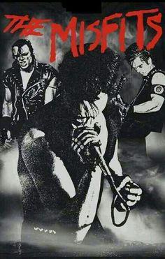 Misfits Glen Danzig ✝ Doyle Wolfgang Von Frankenstein ✝ Jerry Only ✝