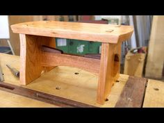 Japanese Joinery - Build a Step Stool - The Samurai Carpenter Japanese Joinery, Japanese Woodworking, Yoga Routine, Yoga Inspiration, Yoga Fitness, Yoga Bewegungen, Carpentry And Joinery, Carpenter Work, Joinery Details