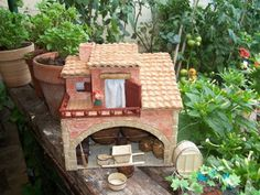 Provence Crèches: Plans cave