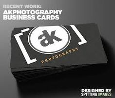 photographer business cards - Google Search
