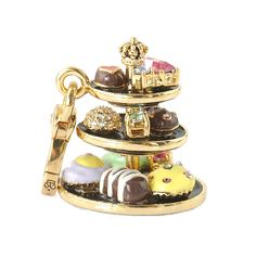 Juicy Couture Dessert Tray Charm <3