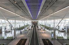 """Aeroporto Internacional de Brasília"". # Brasília, DF. Brasil."