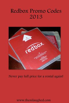 Red box promo codes.