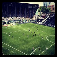 Portland Timbers gearing up to play Seattle. #RCTID