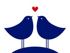 Kissing birds #tagdeskusses #kissingday #kiss #love #nivea #heart