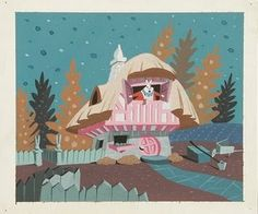 Mary Blair Alice in Wonderland art