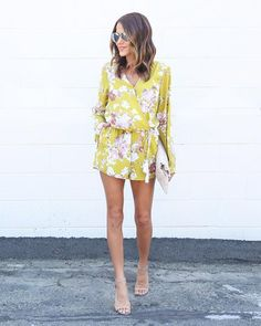 floral romper that doesn't look like a smaller version could go on an infant. important.