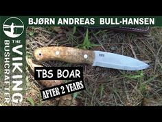 TBS Boar Bushcraft Knife Giveaway Announcement And Review After Two Years of Use - YouTube