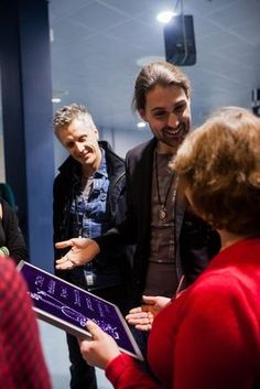 David Garrett/Meet and Greet/ 14.12.2016/St. Petersburg