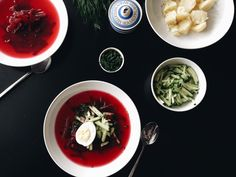 Cold beetroot soup — REDDISH