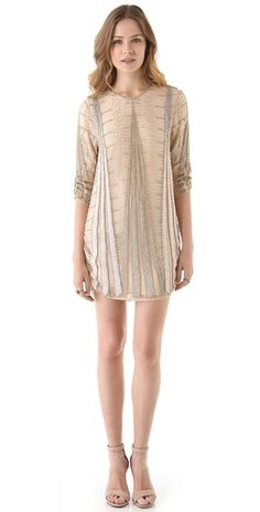 we may be jumping the gun, but we're already scoping out our New Year's Eve dress - this Parker number is a contender!