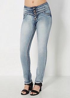 Freedom Flex 3-Shank Vintage Skinny Jean in Long