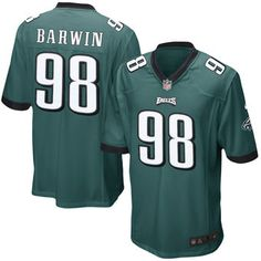 6c81439ba Connor Barwin Philadelphia Eagles Nike Youth Team Color Game Jersey -  Midnight Green Football Outfits