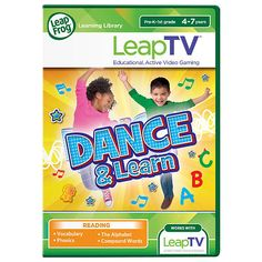 Christmas 2015 gift for our granddaughter and grandson. LeapFrog LeapTV Dance and Learn Educational, Active Video Game - LeapFrog