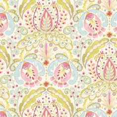 Kumari Garden Teja in Pink by Dena™ Designs for Free Spirit Fabrics