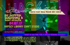 04.07.17 - Hack It! - Victoria Bradbury & the New Media 420 Advanced Interactive Design students