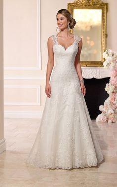 A-Line Sweetheart Wedding Dress - fall wedding dresses Wedding Dress Trends, Fall Wedding Dresses, Wedding Dress Styles, Bridal Dresses, Wedding Gowns, Lace Wedding, Trendy Wedding, Mermaid Wedding, Wedding Blog