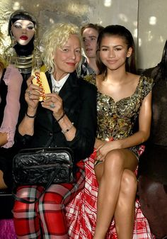 Pin for Later: 21 Standout Moments From Paris Fashion Week Zendaya and Ellen von Unwerth