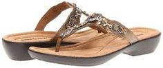 Minnetonka - Boca Thong (Bronze) - Footwear on shopstyle.com