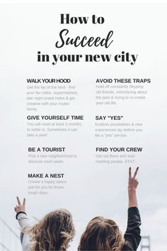 Moving to a new city? Here's 7 tips for a smooth transition