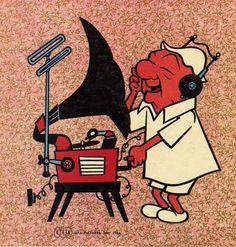 Mr. Magoo enjoys his Hi-Fi, 1956