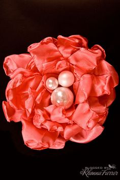 I've done the satin singed flowers out of circles...this is a great idea,too!  Can't wait to see!