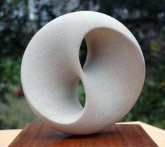 TREFOIL KNOT MINIMAL SURFACE This is the shape a soap film forms over the simplest knot there is, a trefoil.