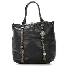 Indian Handbag leather black