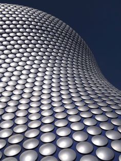 Selfridges Building - Birmingham Bull Ring Shopping Centre.  Taken 20.4.2013.  City of Birmingham, Birmingham.