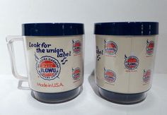 "Made in USA ILGU Cups International Ladies cups!  Remember their ad ""look for the union label""?!"