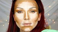 Angelina Jolie Makeup Transformation Tutorial - YouTube