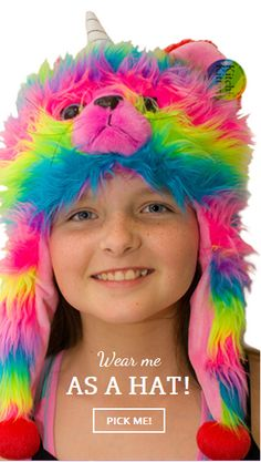 Available in AUS now. Rainbow Butterfly, Rainbow Unicorn, Kitten, Youth, Crochet Hats, Children, Cute Kittens, Knitting Hats, Young Children