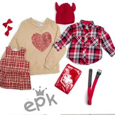Epk El rojo es el color para esta temporada para los mas pequeños, súper chic y vivo, mézclalo con diferentes, texturas, colores y prints para hacer su outfit totalmente original.