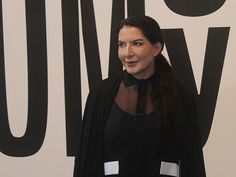 "Marina Abramovic na abertura de ""Terra Comunal"" no Sesc || Crédito: Beatriz Chicca"