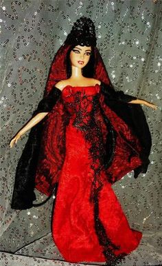Creepy Vampire Beauty ~ OOAK Barbie doll goth vamp gothic | eBay