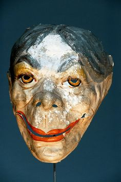 Masks from the collection of the Ostend painter James Ensor (1860 -1949)