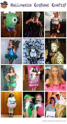 Homemade Costumes for Women - a lot of DIY costume ideas!