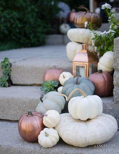 Modern Fall Decor, Fall Home Decor, Autumn Home, Fall Decor Outdoor, Holiday Decor, Holiday Fun, Pumpkin Decorating, Porch Decorating, Decorating Ideas