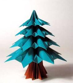 折り紙でクリスマス飾り!!クリスマスリース・ツリーの簡単な折り方・作り方♪