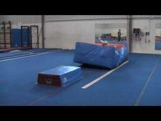 Yurchenko Vault drill - David Kenwright