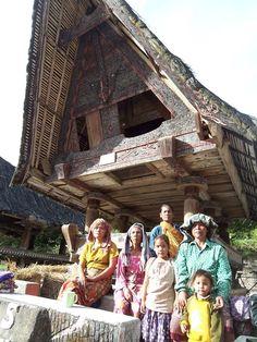 original tribe North Sumatra, Indonesia