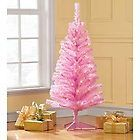 4' Pink Tree Pre-Lit Clear Lights Christmas Tree NEW