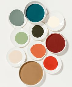 Introducing the Dulux Colour of the Year 2019 - 'Spiced Honey' -A-place-to-love-Palette Colour Pallete, Colour Schemes, Color Trends, Color Palettes, Modern Color Palette, Color Patterns, Dulux Valentine, Yoga Studio Design, Light In