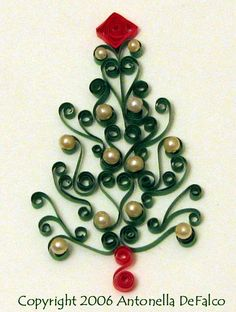 El guilling o papel rolado idea de decoración por navidades, barato y original - Frecuencias de Luz