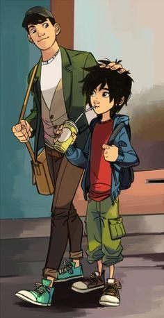 The Hamada Brothers: Hiro and Tadashi Hamada
